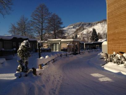 Le domaine sous la neige