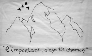 Le tee-shirt de Tal Ben Shadar.  © Annie Welter