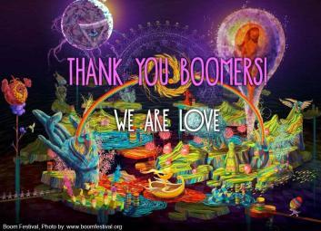 Boom Festival. DR.