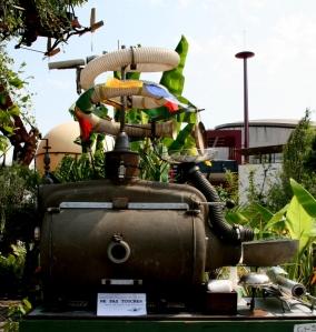 Une des machines de l'aéroflorale  © Annie Welter