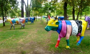 La Cow Parade. © Annie Welter
